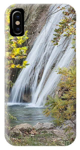 Turner Falls In The Morning Fall IPhone Case