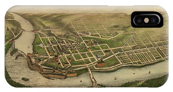 1877 iPhone Case - Turners Falls, Mass. by Bailey