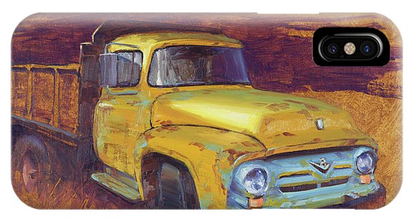 Truck iPhone Case - Turning Into The Light by Cody DeLong