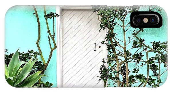 iPhone Case - Turqoiuse Wall by Julie Gebhardt