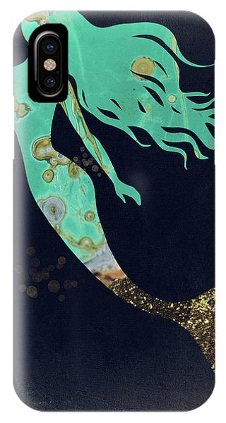 Turquoise Mermaid IPhone Case