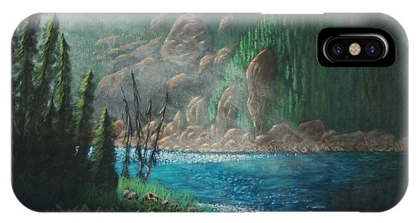 Turquoise River IPhone Case