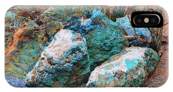 Turquoise Rocks IPhone Case