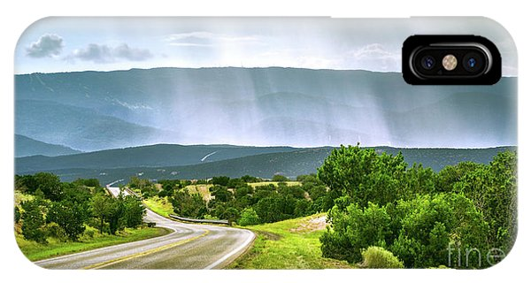 Turquoise Trail IPhone Case