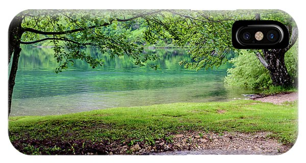 Turquoise Zen - Plitvice Lakes National Park, Croatia IPhone Case
