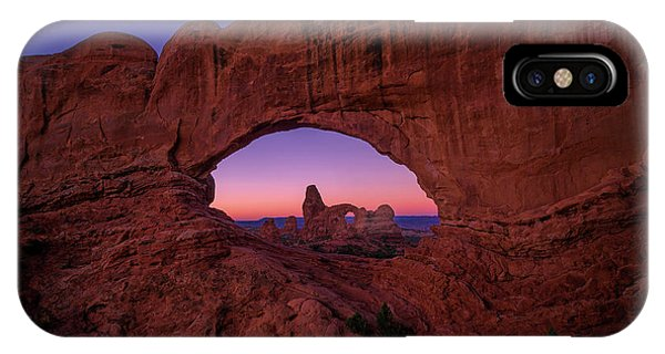 Arches National Park iPhone Case - Turret Arche  by Edgars Erglis