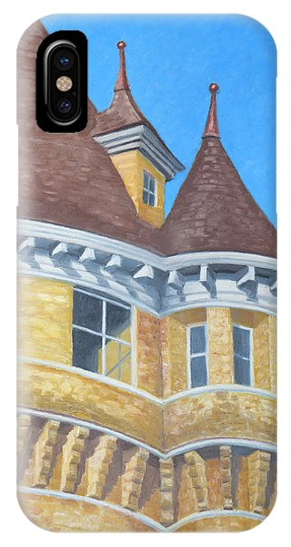 Turrets Of Lawson Tower IPhone Case