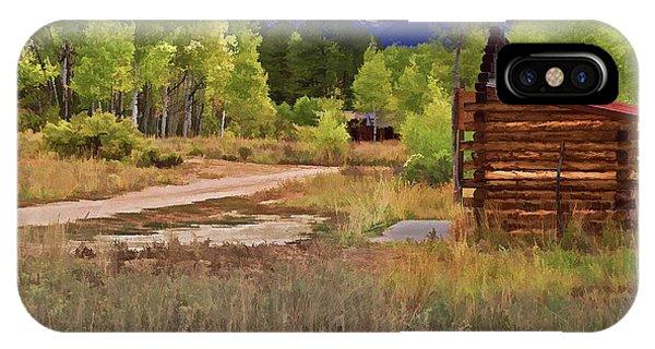 Turrett - Colorado Ghost Town IPhone Case