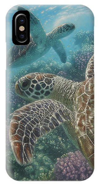 Turtle Bay IPhone Case