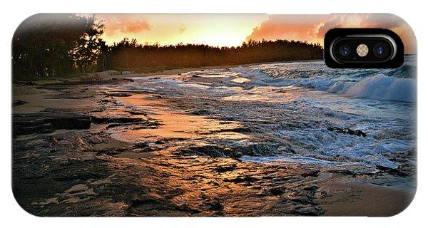 Turtle Bay Sunset 1 IPhone Case
