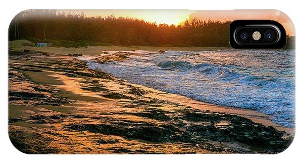 Turtle Bay Sunset 2 IPhone Case