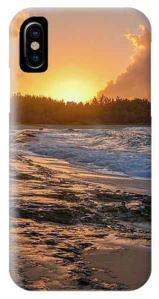 Turtle Bay Sunset 3 IPhone Case