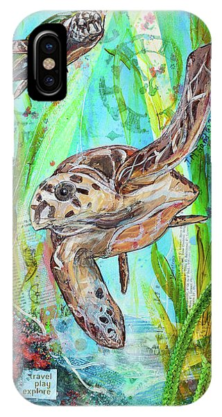 Turtle Cove IPhone Case