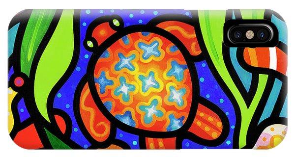 Turtle Reef IPhone Case