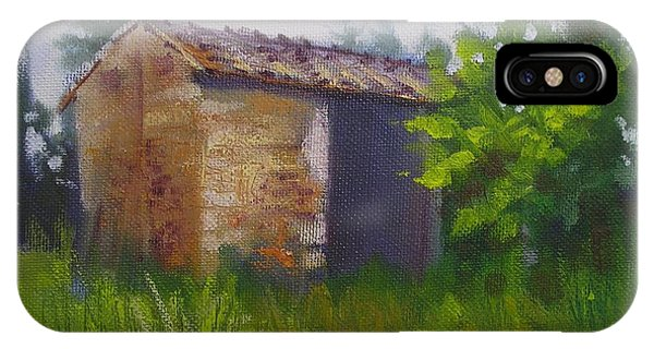 Tuscan Abandoned Farm Shed IPhone Case