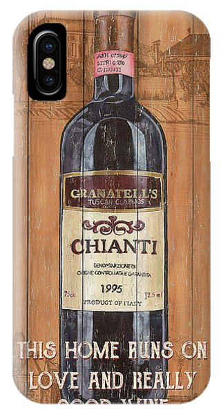 Bar iPhone Case - Tuscan Chianti 2 by Debbie DeWitt