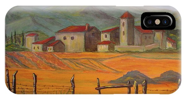Tuscan Farm IPhone Case