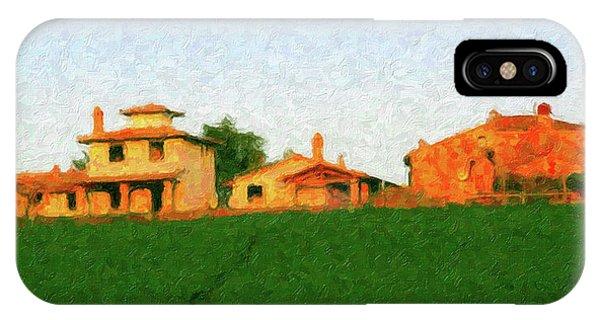 Tuscan Farmhouse IPhone Case