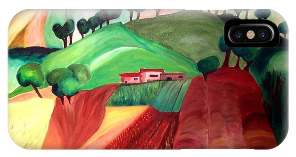 Tuscan Landscape Phone Case by Patricia Arroyo
