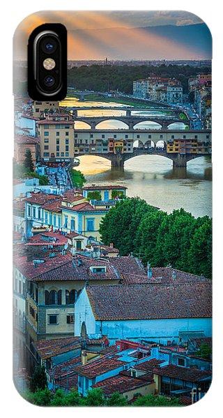 Tuscan Sunbeams IPhone Case