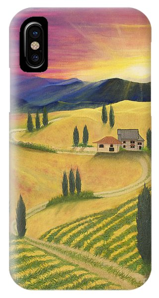 Tuscan Sunset B IPhone Case
