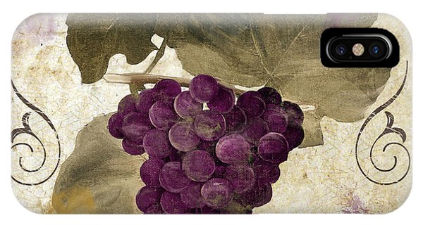 Tuscan Table Rouge IPhone Case
