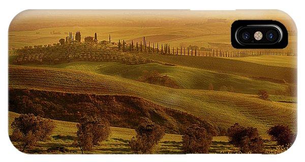 Tuscan Villa IPhone Case
