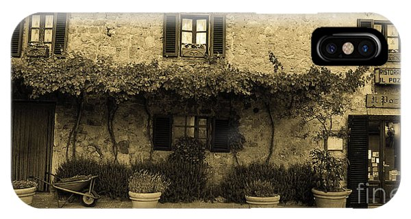 Tuscan Village IPhone Case