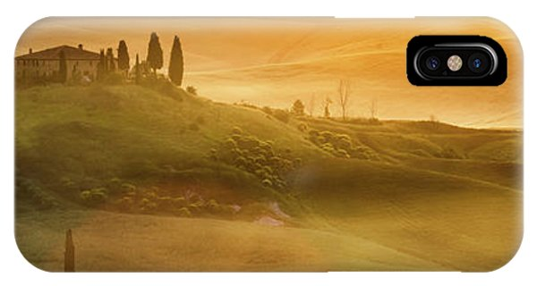 Tuscany In Golden IPhone Case