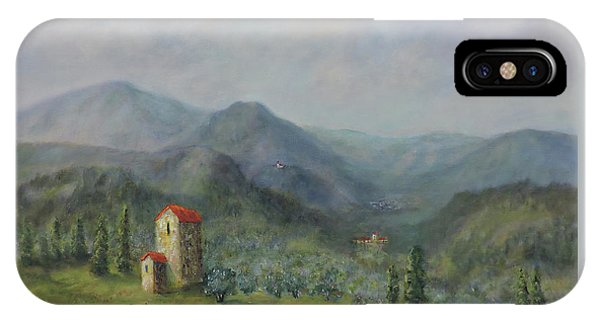 Tuscany Italy Olive Groves IPhone Case