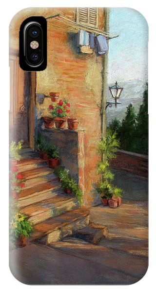Tuscany Morning Light IPhone Case