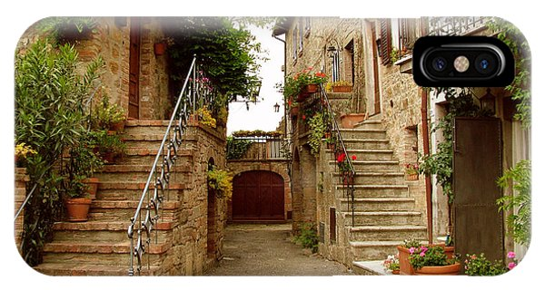 Tuscany Stairways IPhone Case