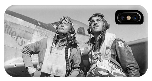African-american iPhone Case - Tuskegee Airmen by War Is Hell Store