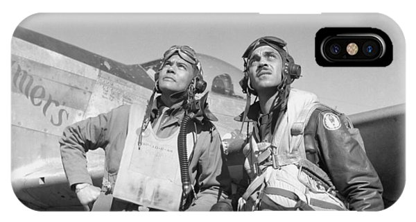 World War Two iPhone Case - Tuskegee Airmen by War Is Hell Store