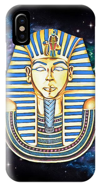 Egyptian iPhone X Case - Tutankhanam by Canvas Cultures