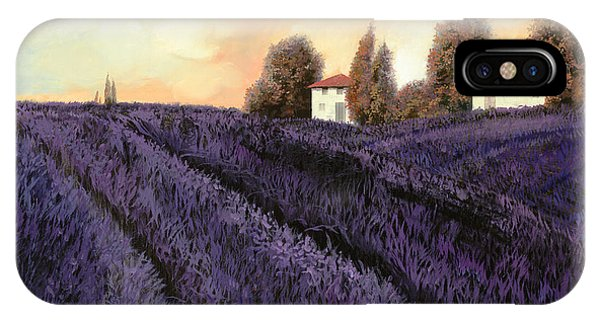 Italy iPhone Case - Tutta Lavanda by Guido Borelli