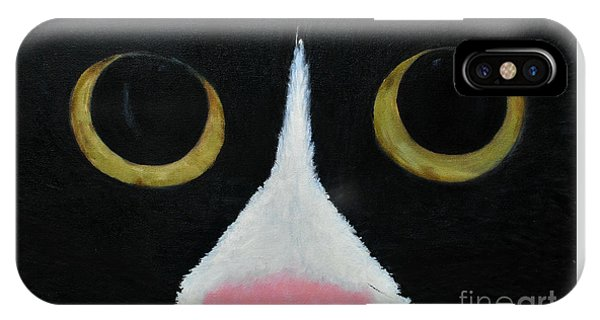 Tux Portrait  IPhone Case