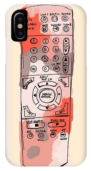 tv remote I IPhone Case