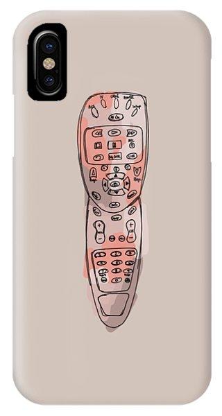 tv remote II IPhone Case