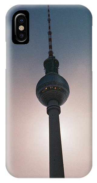 Tv Tower Berlin IPhone Case