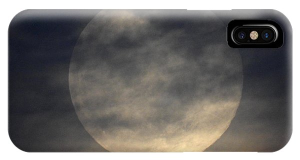 Twas The Night Before A Full Moon IPhone Case