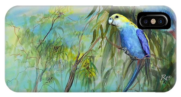 Two Pale-faced Rosellas IPhone Case