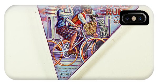 Tweed Run London Princess And Guvnor  IPhone Case