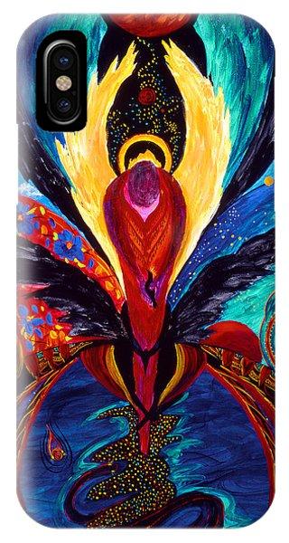 Captive Angel IPhone Case