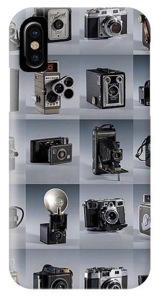 Twenty Old Cameras - Color IPhone Case