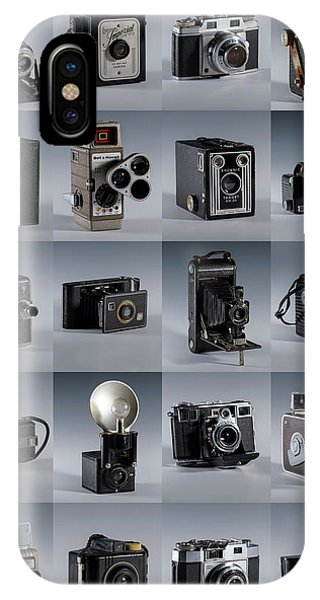 Twenty Old Cameras - Color IPhone Case