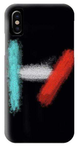 Twenty One Pilots Black Abstract IPhone Case