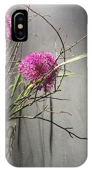 Twigs And Purple IPhone Case