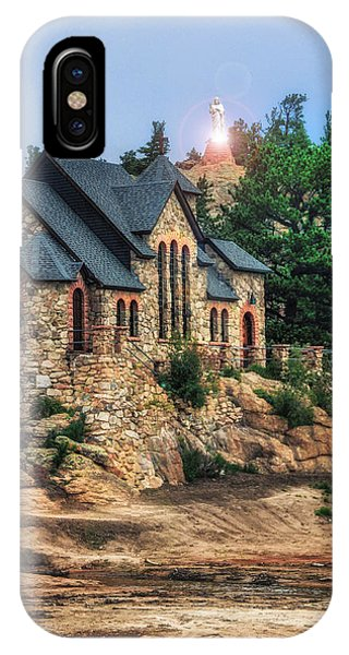 Twilight At Chapel On The Rock IPhone Case