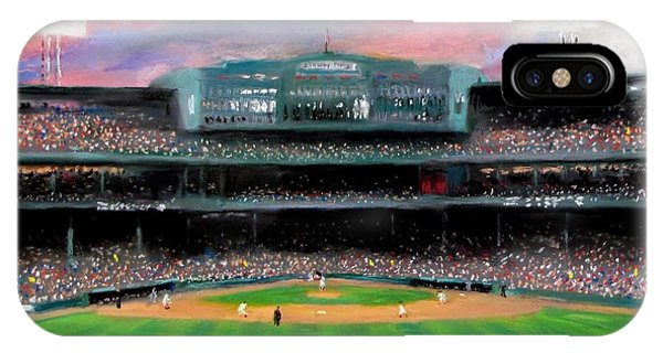 Red Sox iPhone Case - Twilight At Fenway Park by Jack Skinner